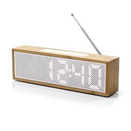 Radiosveglia Titanium Bamboo