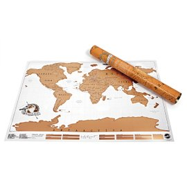Planisfero da grattare Scratch Map