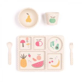 Fruit and Vegetables Dinner Set - 5 pieces