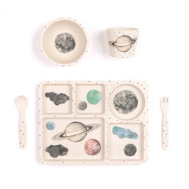 Galaxy Dinner Set - 5 pieces
