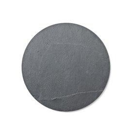 6 New Norm slate plate ø 17.5cm