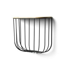 Cage storage shelf
