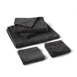 Rex full towel set - grey