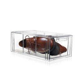 Scatola trasparente per scarpe grandi