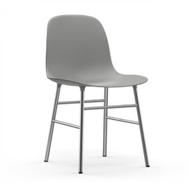 Form chromed chair