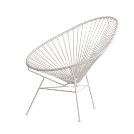 Acapulco lounge chair - white