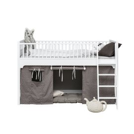 Seaside low loft bed