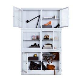 Seaside glass cabinet