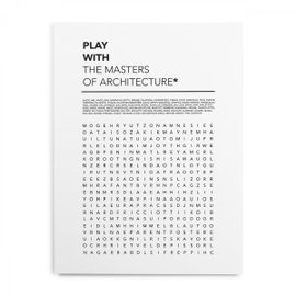Play with the masters of Architecture poster