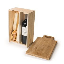 Saycheese wine box and cheese board