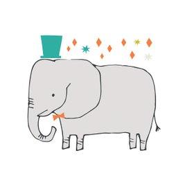 Sticker XL Elefante