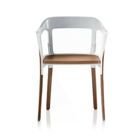 Poltroncina Steelwood Chair