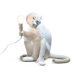 Lampe de table Monkey assis