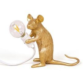 Lampada da tavolo Mouse seduto