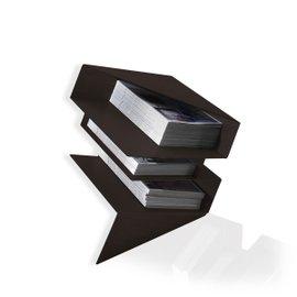 Origami magazine holder