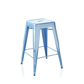 H outdoor stool H65 cm lacquered