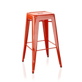 H outdoor stool H75 cm lacquered