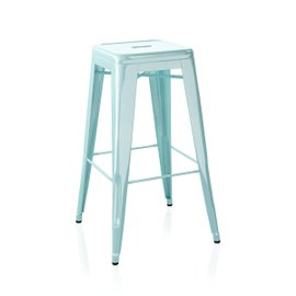 H stool H75 cm painted