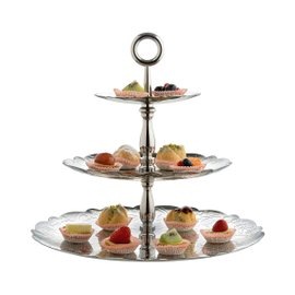 Dressed Xmas 3 levels cake stand