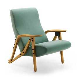 Gilda armchair in fabric