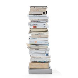 Ptolomeo Original bookcase H 75 cm - white