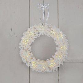 Ghirlanda bianca Fiocco di neve