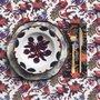 Piatto piano Ombrellini con piatto fondo Papaveri - La Double J
