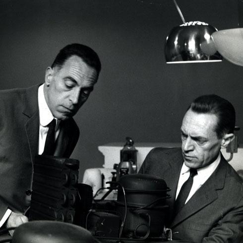 Achille Castiglioni and Pio Manzù