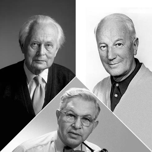 Piet Hein - Arne Jacobsen - Bruno Mathsson
