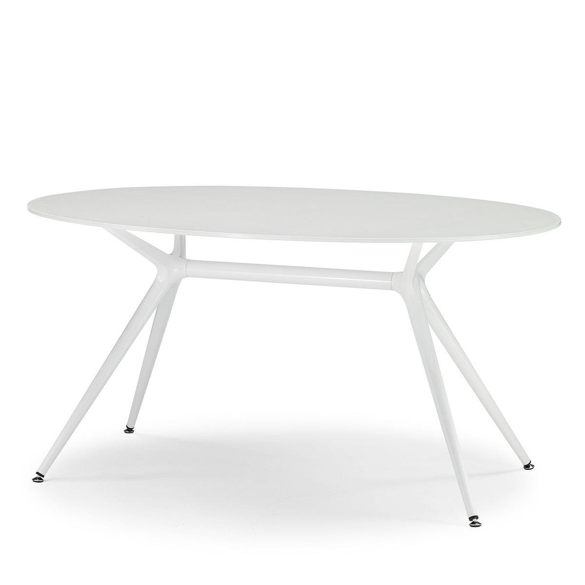 Tavolo ovale metropolis bianco by scab design lovethesign - Tavolo ovale mondo convenienza ...