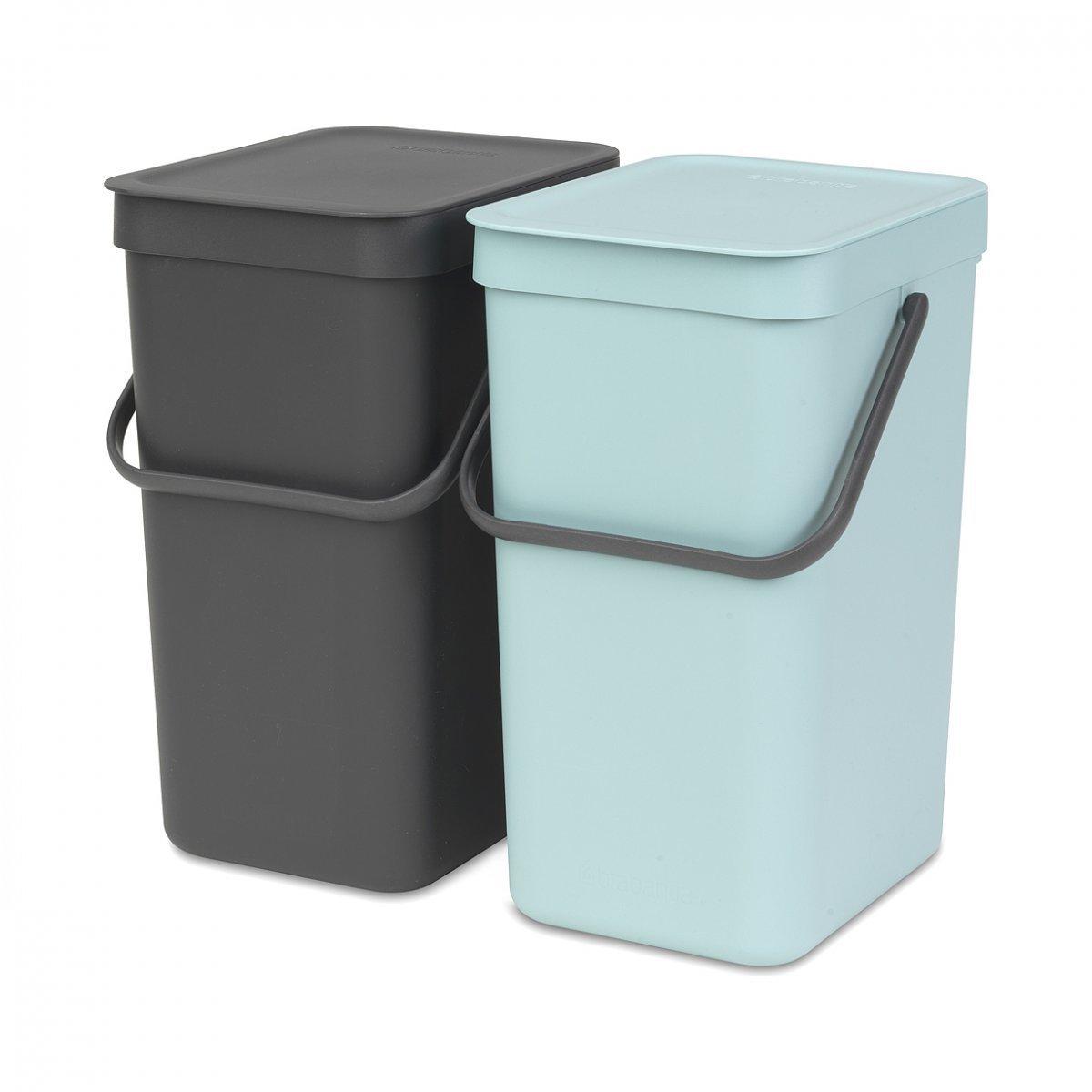SortGo double 12-litre rubbish bin by Brabantia | LOVEThESIGN