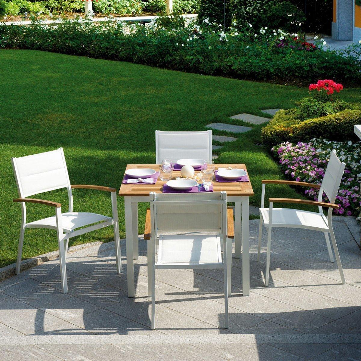 Tavolo da giardino calvi by outdoor selection lovethesign for Outdoor giardino