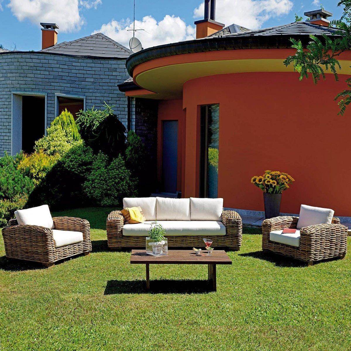 Salottino da giardino bangalore by outdoor selection for Outdoor giardino