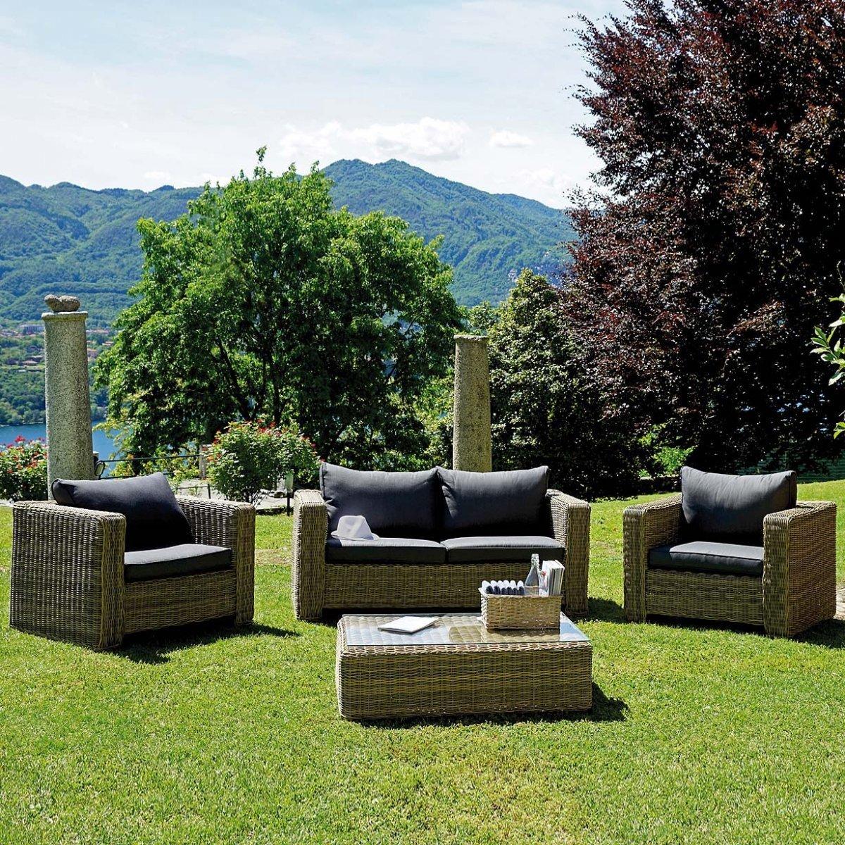 Salottino da giardino trinidad by outdoor selection for Outdoor giardino