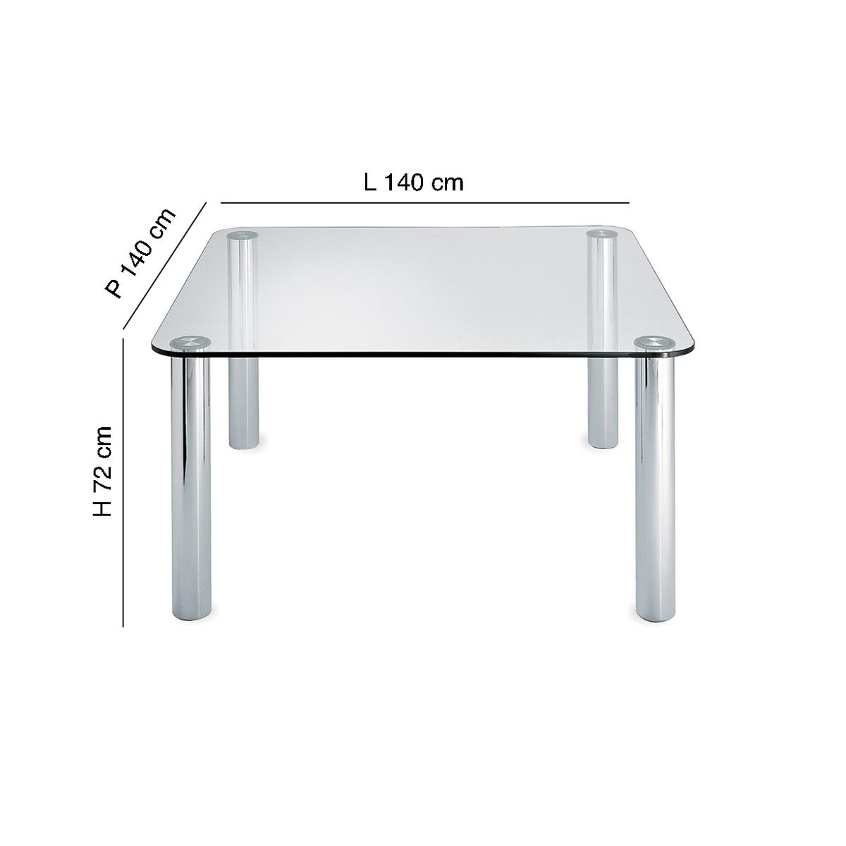 Tavolo quadrato Marcuso
