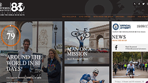 Artemis World Cycle - Around the World in 80 Days, with Mark Beaumont