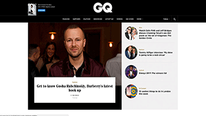 British GQ - Best Website for Lifestyle