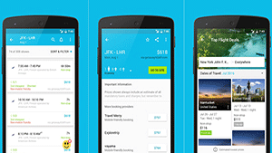 Skyscanner travel app