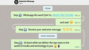 The Battenhall WhatsApp