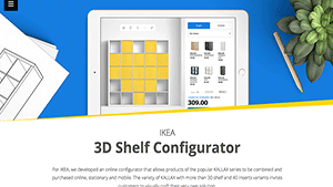 The lovie awards winners gallery for Ikea configurador