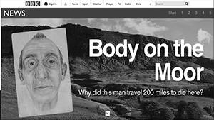 BBC News - Body on the Moor