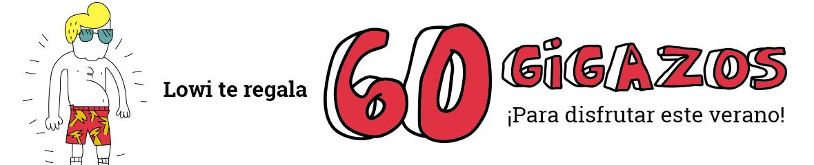 Lowi te regala 60 gigazos ¡Para disfrutar este verano!