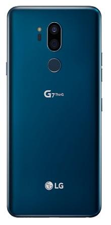 Trasera - LG G7 Blue
