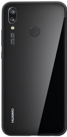 Trasera - Huawei P20 Lite Black