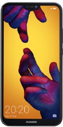 Frontal - Huawei P20 Lite Black