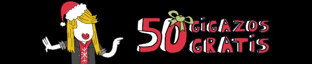No podemos mejorar esta Navidad, pero sí regalarte 50 GIGAZOS GRATIS
