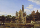 View of the Westerkerk, Amsterdam
