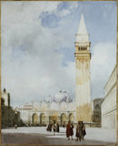 Venice: the Piazza San Marco