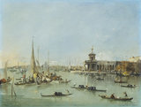 Venice: the Dogana with the Giudecca