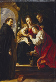 The Mystic Marriage of Saint Catherine (after Fetti)